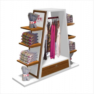 Multifunction Garment Display Fixture