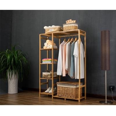 Garment Display Shelf And Hang Rack