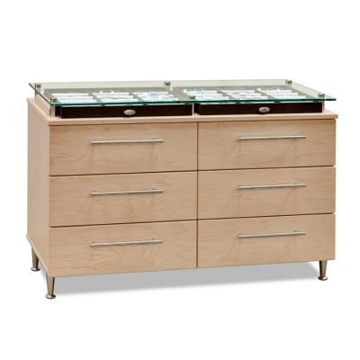 6 Drawer Eyewear Base Cabinet