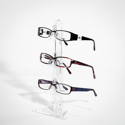 Acrylic Transparent Stand Glasses Display